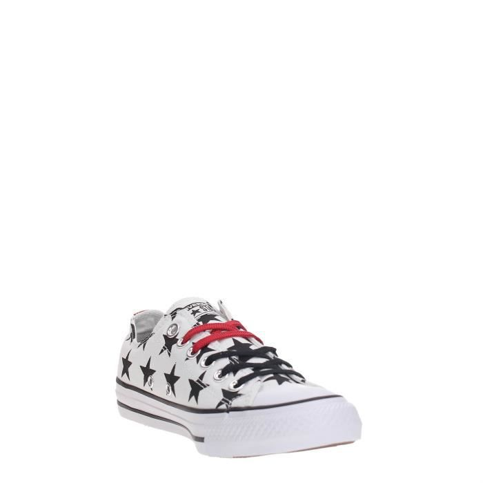 red Converse Femme Sneakers black White wq0IzxP0F