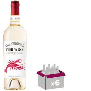 VIN BLANC THE ORIGINAL FISH WINE Sauvignon Vin du Chili - Bl