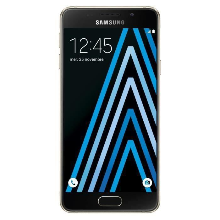 SMARTPHONE Samsung Galaxy A3 2016 Or