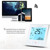 THERMOSTAT D'AMBIANCE 16A 110 ~ 240V Thermostat intelligent WIFI durable