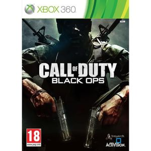 JEU XBOX Call Of Duty Black Ops Jeu XBOX 360