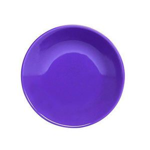 NOVASTYL Ibiza 8022992 Lot 6 Assiettes Creuse 20,5cm - Violet - Faience