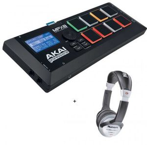 SAMPLER Pack Akai MPX 8 - Lecteur de sample sur carte SD +