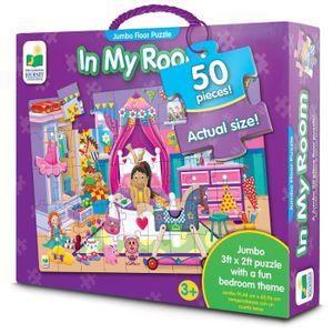 CASSE-TÊTE Le 436233 In My Room Jumbo Puzzle Floor 3G8826