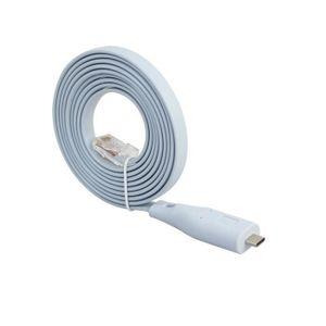 CÂBLE RÉSEAU  USB3.1 Type C USB C RJ45 Ethernet LAN Console Cord