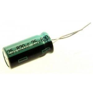 alu 9con146 6x8mm 2x Condensateur Apaq 820uf 2.5v