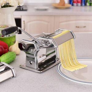 MACHINE À PÂTES COSTWAY Machine à Pâtes Manuelle en Acier Inoxydab