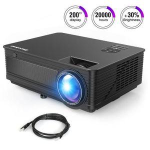 """Vidéoprojecteur Excelvan vidéoprojecteur HD 3500 lumens 120 """""""