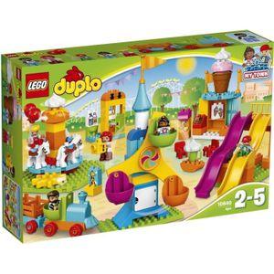 ASSEMBLAGE CONSTRUCTION LEGO® DUPLO Ville 10840 Le Parc d'Attractions - Je