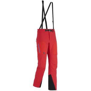 PANTALON DE SKI - SNOW Pantalon Softshell Millet Trilogy Storm Wool Red -