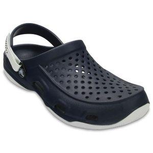 Crocs Swiftwater Deck Clog Sandale Mules Chaussons Sabots Messieurs