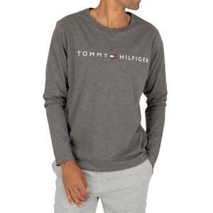 Homme Tommy Hilfiger tee shirtoriginal vn knit ss noir noir