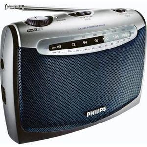RADIO CD CASSETTE Radio portable Tuner analogique Piles ou secteu…