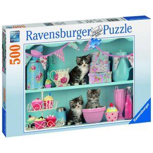PUZZLE RAVENSBURGER Puzzle Chatons & Cupcakes 500 pcs