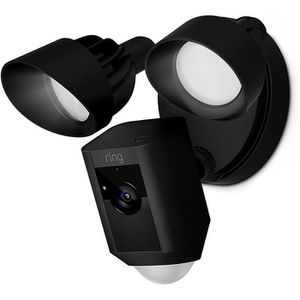 CAMÉRA IP RING Caméra de surveillance Floodlight - Noir