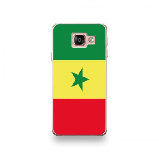 Coque Wiko U'Feel Prime motif Drapeau Sénégal