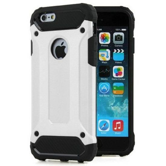 Coque Antichoc iPhone 6 PLUS/6S PLUS Blanc