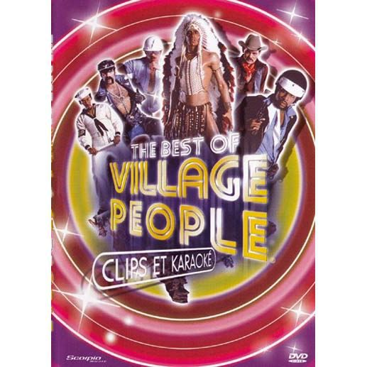 DVD Village people clips + karaoke