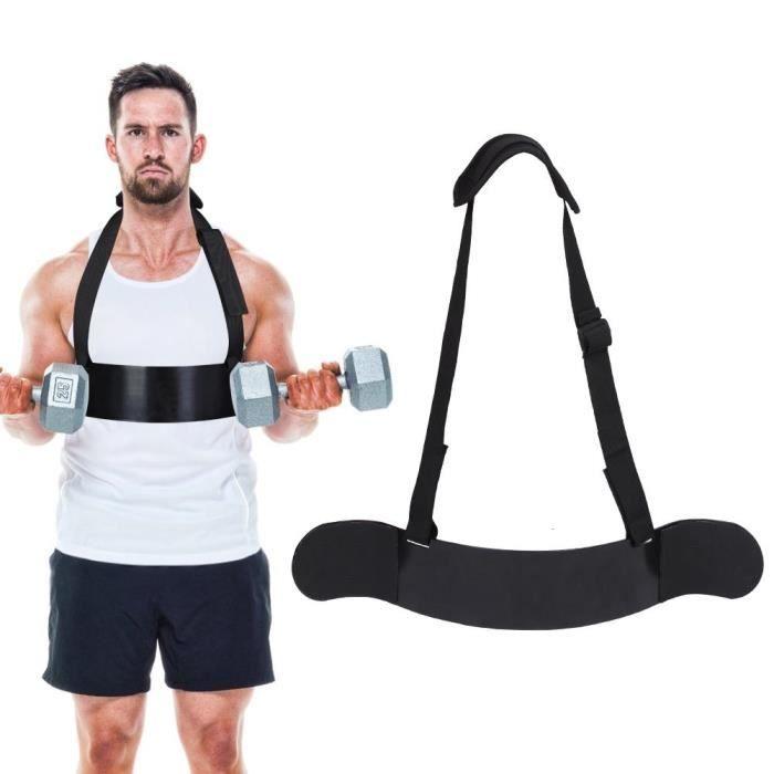épais de mesure courbure biceps soutien bras résistant courroie réglable Alliage d'aluminium