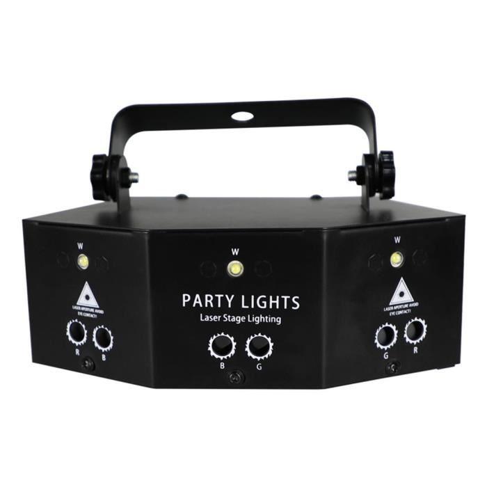 Projecteur à distance 9-EYE RGB DMX Scan LED Strobe DJ Disco Party Stage Lighting 10W @sea908