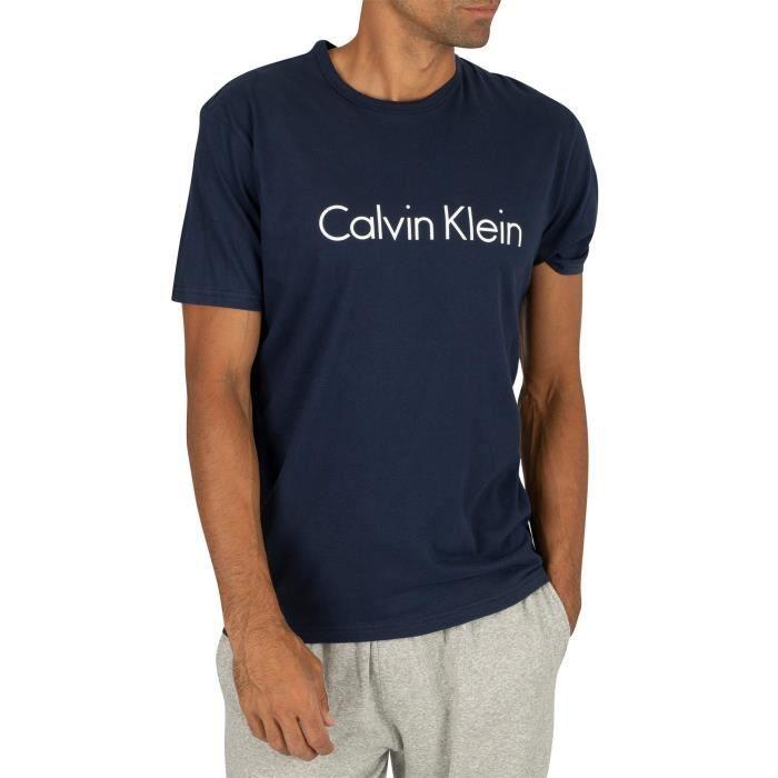 Calvin Klein Pour des hommes T-shirt graphique, Bleu