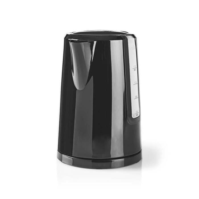 Bouilloire électrique - 1,7 L - Lampe LED - Noir ALPEXE-422