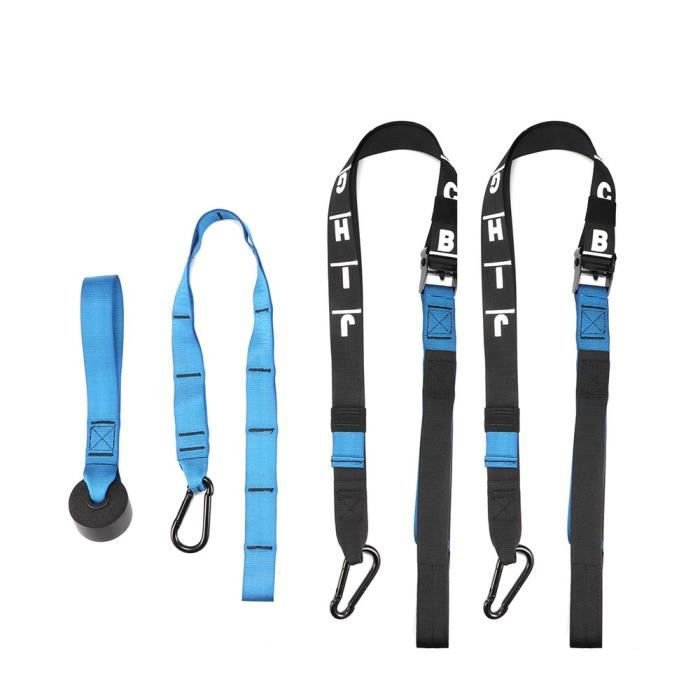 BALLON SUISSE -Suspension Training Band Fitness Rally Band-Bleu