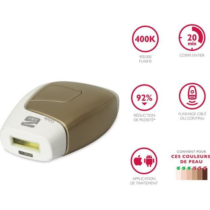 Silk'n Glide Rapid IPL 400 000 Flashs