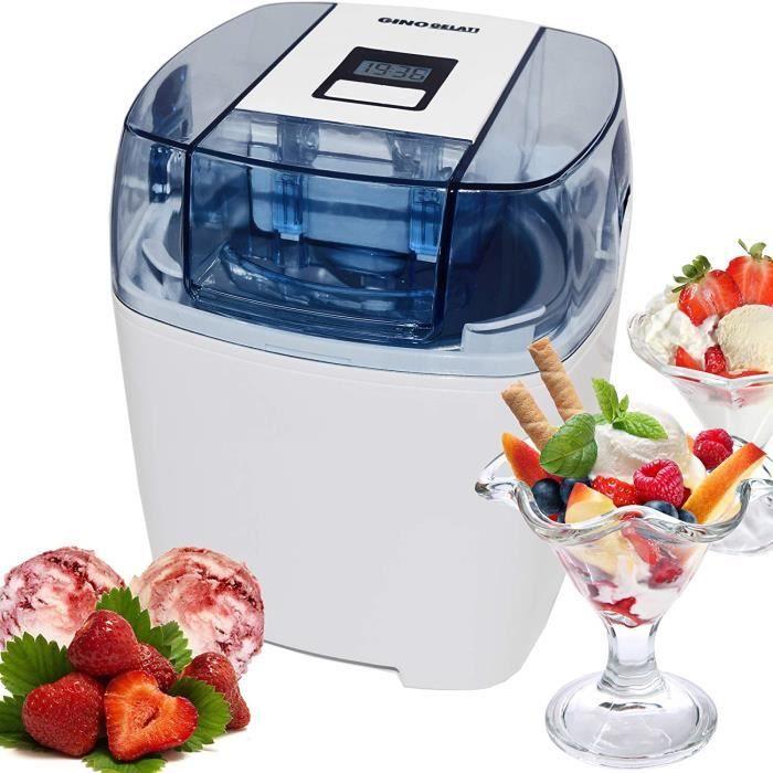 Machine à glace numérique avec minuterie Machine à yogourt glacé
