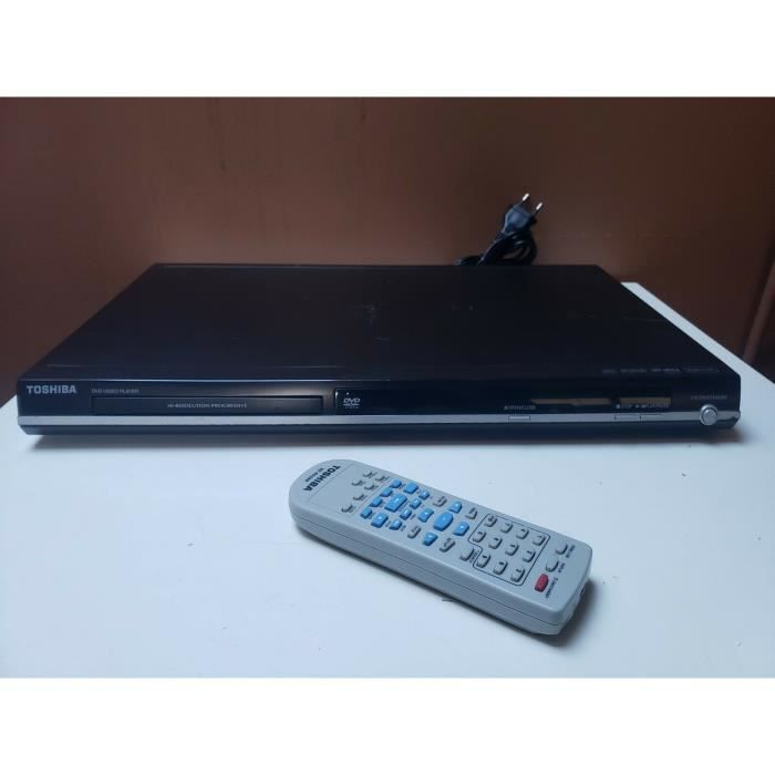 LECTEUR DVD TOSHIBA SD-271 DVD VIDEO MP3 JPEG CD AUDIO DIVX + TELECOMMANDE