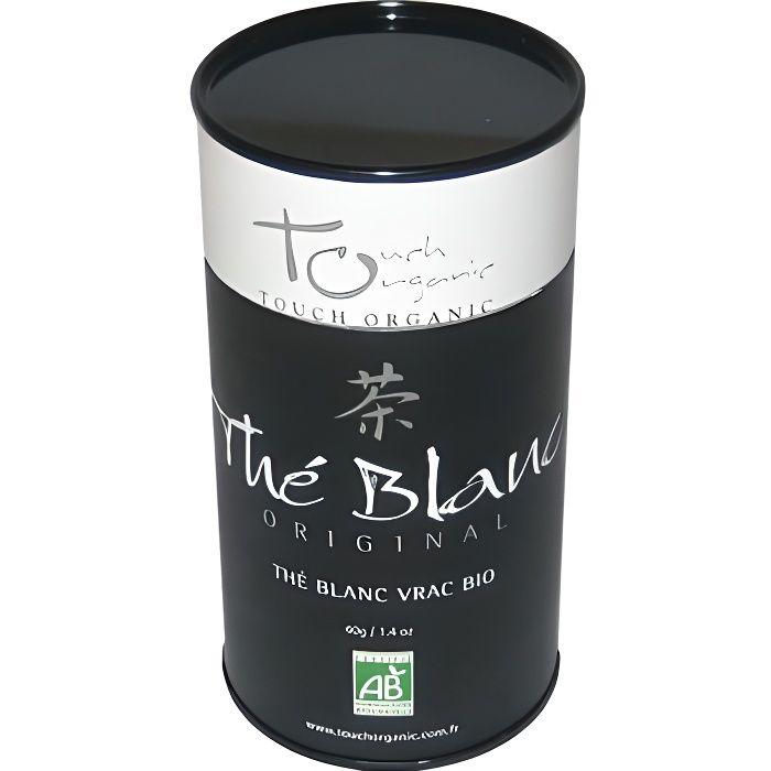 Touch Organic The blanc BIO vrac 40g