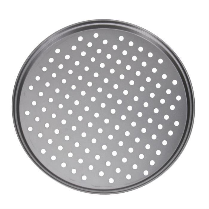 Plaque de cuisson antiadhésive de 12 pouces pour plaque à pizza avec trous pour outil de pour MIJOTEUR ELECTRIQUE