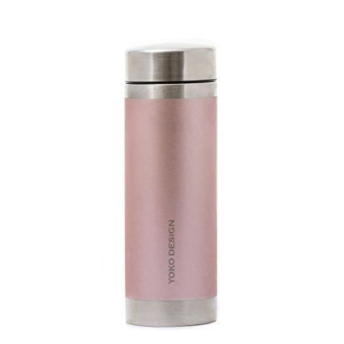 YOKO DESIGN Théière isotherme - Irisé rose satin - 350 ml