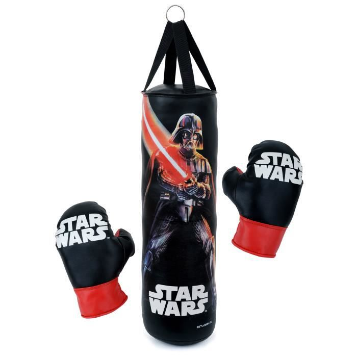 star wars punching ball sac de frappe 50cm et 1 paire de. Black Bedroom Furniture Sets. Home Design Ideas