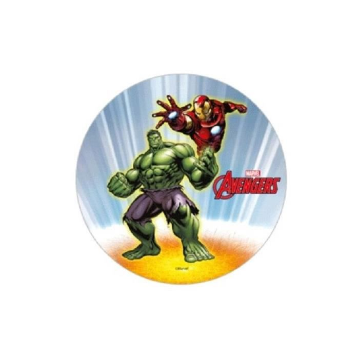 USTENSILES DECORATION  disque azyme avengers
