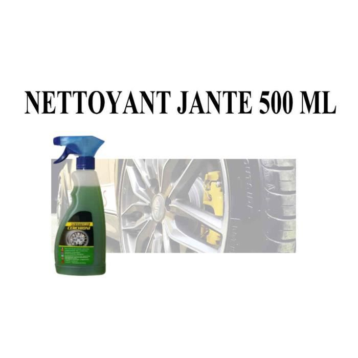 nettoyant pour jante alu de voiture efficace en spray 500 ml achat vente nettoyant. Black Bedroom Furniture Sets. Home Design Ideas