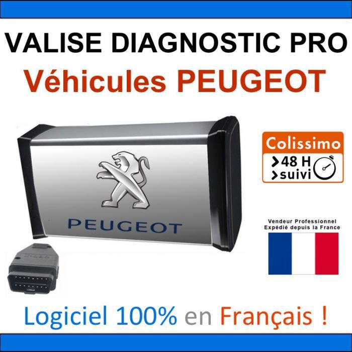 maxiecu 2 mpm com valise diagnostic peugeot diagbox. Black Bedroom Furniture Sets. Home Design Ideas