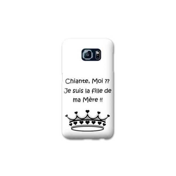 Coque Samsung Galaxy S7 Humour - - moi chiante B