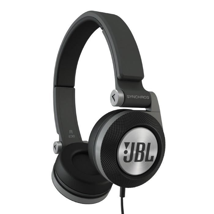 jbl casque filaire e30 supra auriculaire noir casque. Black Bedroom Furniture Sets. Home Design Ideas