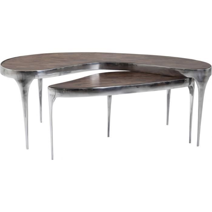 Table basse have a break 2 set kare design achat vente table basse table - Table basse soldes design ...