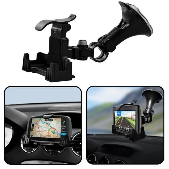 support 2en1 auto voiture pour gps tomtom via 135 achat vente fixation support gps support. Black Bedroom Furniture Sets. Home Design Ideas