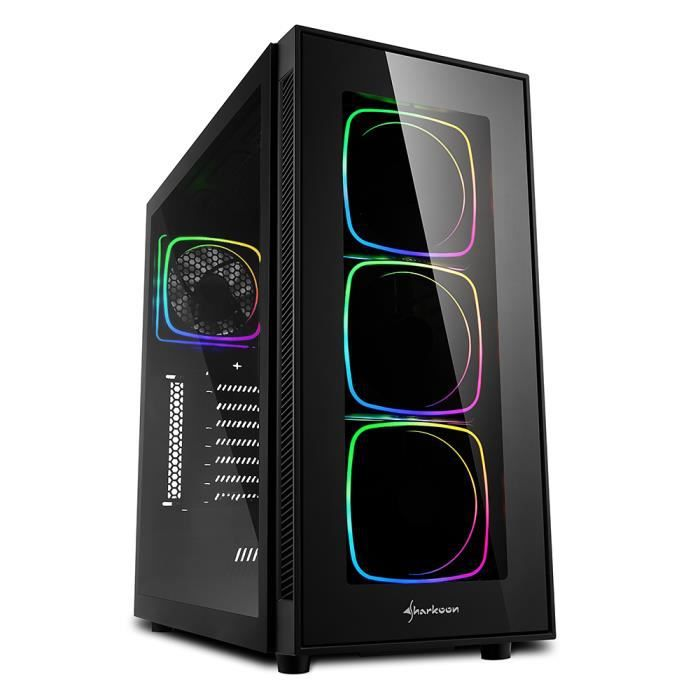 UNITÉ CENTRALE  PC Gamer, Intel i7, RTX 2080Ti, 500Go SSD, 3To HDD