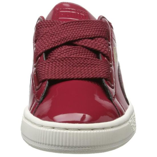 buy popular 689d5 0175b PUMA Women's Basket Heart Patent Wn S Tibetan Red Sneakers-4.5 Ukindia  (37.5 Eu)(36307305) YGVTX Taille-M