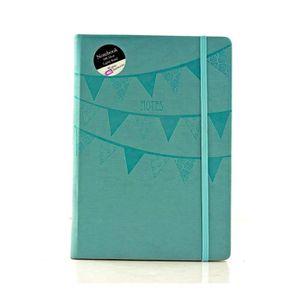 Lot de 3 carnets /à spirales lign/és A5 Couverture souple Kraft 100 pages//50 feuilles de bloc-notes Agenda parfait pour les voyages et l/école 3 Pack Black