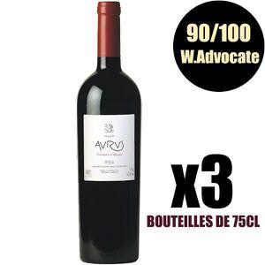 VIN ROUGE X3 Aurus 2005 75 cl Allende AOC Rioja Vin Rouge