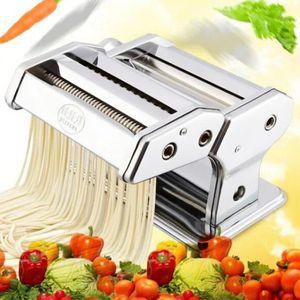MACHINE À PÂTES Machine à pâtes manuel  en acier inoxydable ---Lam