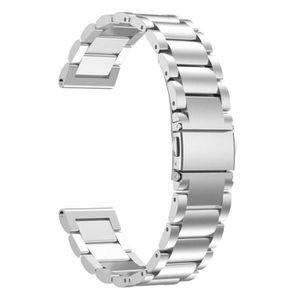 BRACELET MONTRE CONNEC. Bracelet en acier inoxydable Montre bracelet ban p
