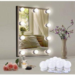 AMPOULE - LED LEDGLE Lampe Luminaire pour miroir Hollywood - Vin