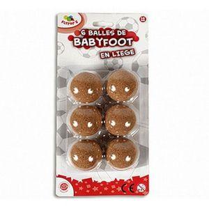 BABY-FOOT 6 BALLES DE BABY FOOT EN LIEGE 35 MM BABYFOOT JEU