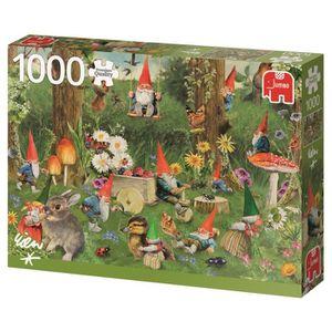 PUZZLE JUMBO Puzzle 1000 pièces Gnomes